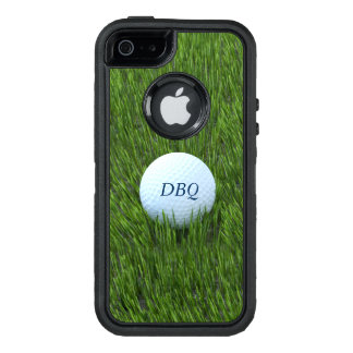 Golf Ball In the Rough - Personalized OtterBox iPhone 5/5s/SE Case
