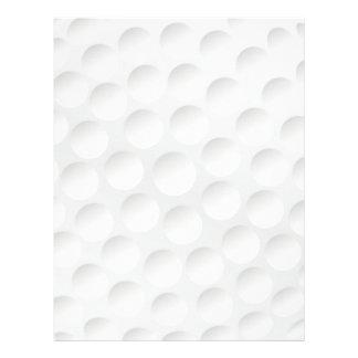 golf ball letterhead
