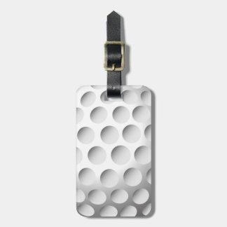 Golf Ball Luggage Tag