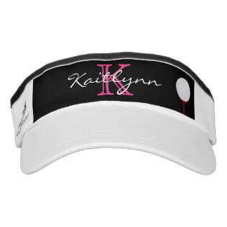 Golf Ball Monogram Sport Sun Visor