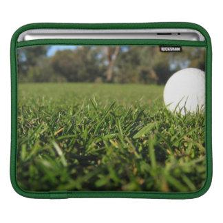 Golf Ball on Course iPad Sleeve