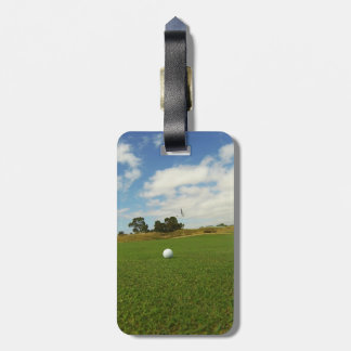 Golf Ball On The Green, Luggage Tag