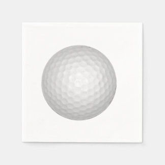 Golf Ball Paper Napkins