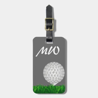 Golf ball personalized golfer tags for bags