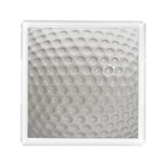 Golf Ball Sport Acrylic Tray