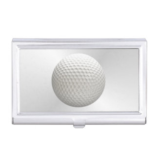 Golf Ball Sport Business Card Holder