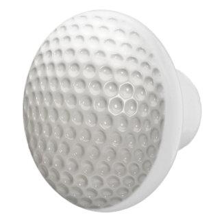 Golf Ball Sport Ceramic Knob