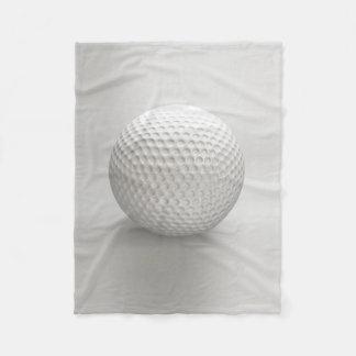 Golf Ball Sport Fleece Blanket