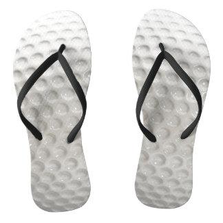 Golf Ball Sport Flip Flops