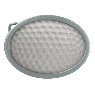 Golf Ball Sport Oval Belt Buckle