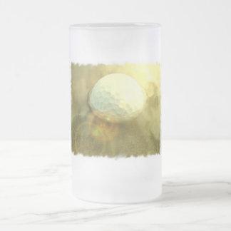 Golf Ball Stuck in the Mud Beer Mug