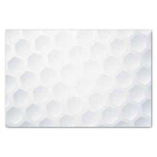 Golf ball texture tissue paper