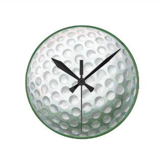 Golf Ball Wallclocks