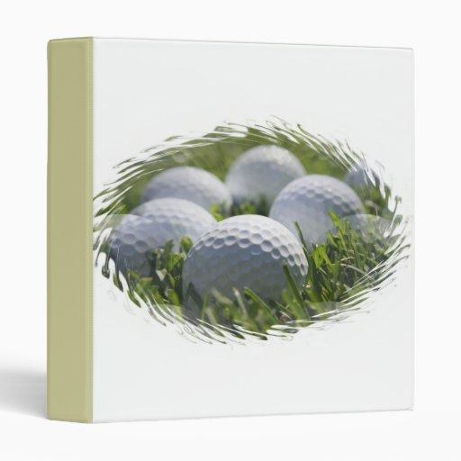 Golf Balls Binder