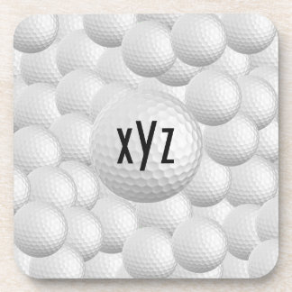 Golf Balls custom coasters