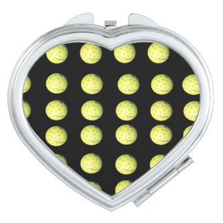 Golf_Balls_Ladies_Compact_Mirror. Makeup Mirrors
