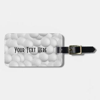 Golf Balls  luggage tag