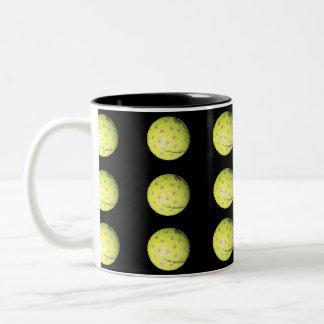Golf_Balls_On_Black,_Colorful_Two_Toned_Coffee_Mug Two-Tone Coffee Mug