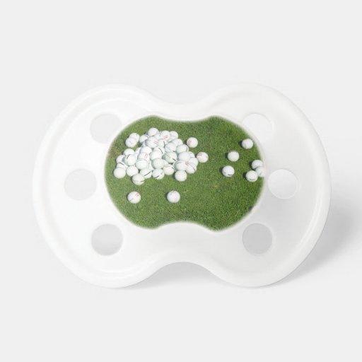 Golf Balls Baby Pacifiers