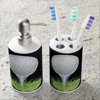 Golf Bath Accessory Set