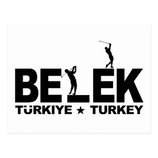 GOLF BELEK postcard - customizable