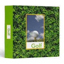 Golf Binder binders