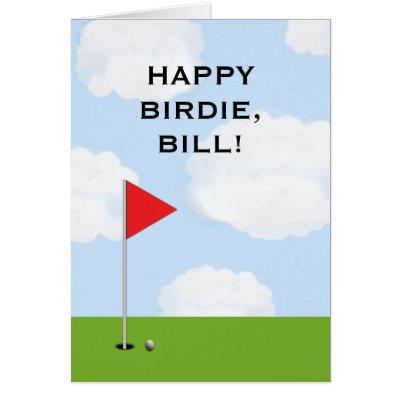 Funny Golf Birthday Card – Golfing Birthday Cards