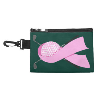 Golf Breast Cancer Awareness Accessory Bag