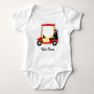 Golf cart baby bodysuit