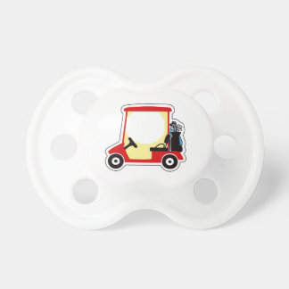 Golf cart baby pacifiers