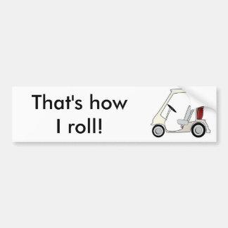 golf_cart bumper sticker