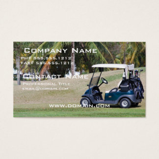 Golf Cart Business Card