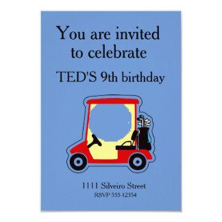 Golf cart card