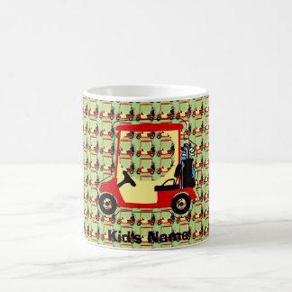 Golf cart coffee mug