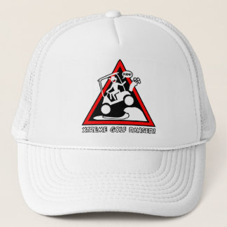 GOLF CART JUMPING TRUCKER HAT