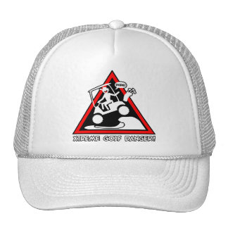 GOLF CART JUMPING TRUCKER HAT