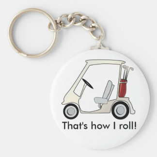 golf_cart keychain