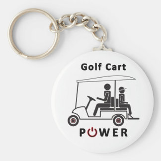 Golf Cart Power Keychain
