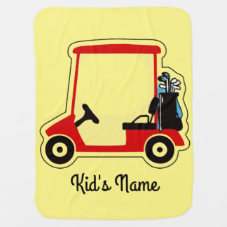 Golf cart swaddle blankets