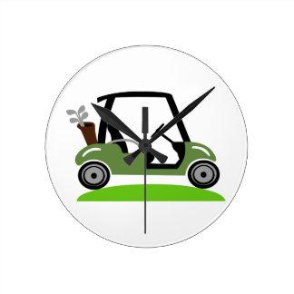 Golf Cart Wallclocks