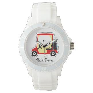 Golf cart watches