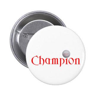 GOLF CHAMPION GIFT 2 INCH ROUND BUTTON