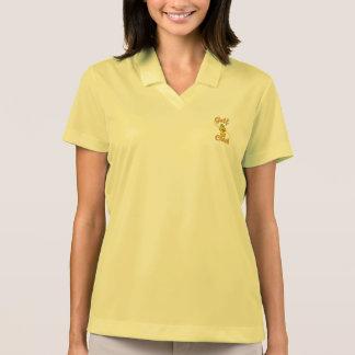 Golf  Chick Polo T-shirt