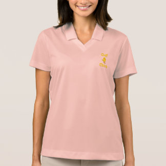 Golf  Chick Polo T-shirt