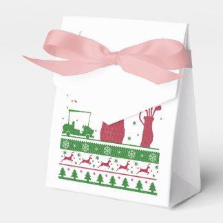 Golf Christmas Favor Box