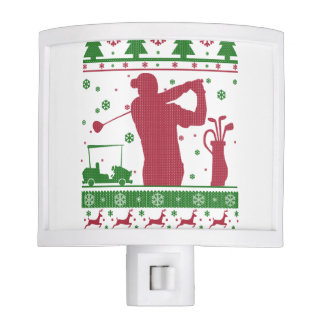 Golf Christmas Nite Lights