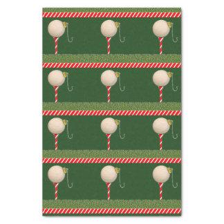 Golf Christmas Tissue Paper