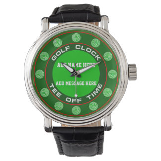 Golf Clock Watch