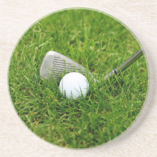 Golf Club and Golf Ball Coaster