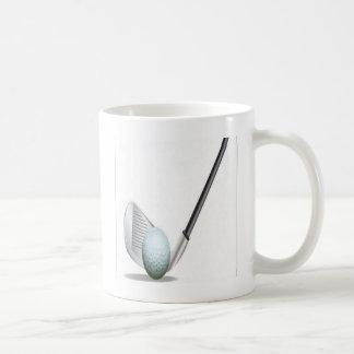 Golf club and golf ball design coffee mug